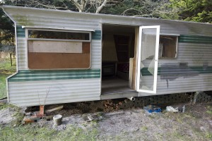Mobile home - outside