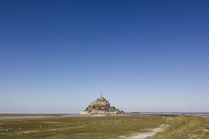 Mont-Saint-Michel from afar