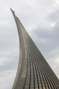 Monument to the Conquerors of Space, Moscow (titanium, 107m)