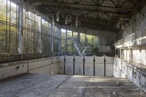 Azure swimming pool, Pripyat