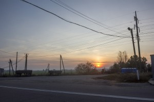 Sunset, Chernobyl